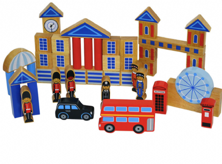 Lanka Kade Wooden Building Blocks - London